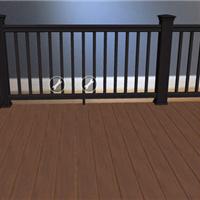 嘉兴生态木塑木地板WPC环保再生木PVC长城板
