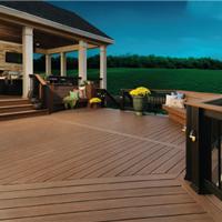 苏州生态木塑木地板WPC环保再生木PVC长城板