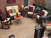 常熟生态木塑木地板WPC环保再生木PVC长城板