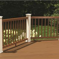 太仓生态木塑木地板WPC再生木PVC长城板