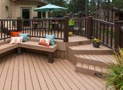 吉安生态木塑木WPC再生木环保木PVC长城板