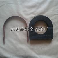供应空调管道木托管夹 DN89空调管道木托