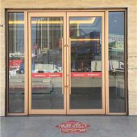 南宁铝材玻璃门|铝框地弹门