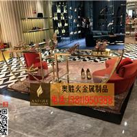北京不锈钢展架 博物馆不锈钢展架加工