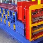 供应三层压瓦机带琉璃瓦压型设备