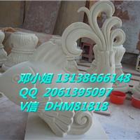砂岩动物喷泉喷水池鲤鱼造型雕塑树脂工艺品