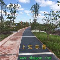 杭州透水混泥土---彩色透水地面