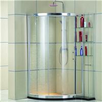 酒店简易钢化玻璃淋浴屏 整体卫浴淋浴房