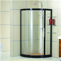 1供应酒店淋浴房 卫浴厂家直销玻璃隔断