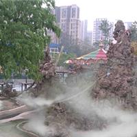 广东假山喷雾造景设备
