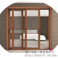 重庆三轨窗纱一体重型推拉门设计与定制