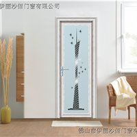 豪致尚防夹手门窗1.2白橡木铝合金门