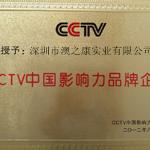 CCTV中国影响力品牌企业