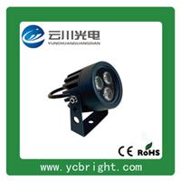 供应景观亮化3W圆形LED户外射灯小投光灯