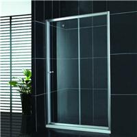酒店移门式简易淋浴房 钢化玻璃浴室门 屏风