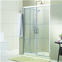 卫浴厂家批发酒店工程淋浴屏风 简易淋浴房