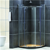 厂家直销 酒店工程淋浴屏风  凯迪斯淋浴房