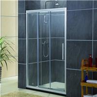 酒店家装淋浴房 厂家直销三连动玻璃门