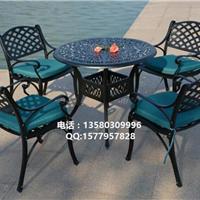 供应室外铸铝桌椅 酒店会所铸铝桌椅批发