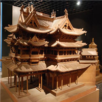 供兰州别墅模型设计和甘肃古建筑模型