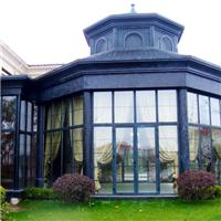 阳光房别墅房平顶阳光房别墅花园玻璃房