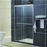 1非标定制 钢化玻璃淋浴房 双移门卫浴隔断