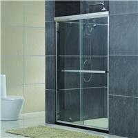 批发家装卫浴隔断门 创意铝合金双推淋浴屏