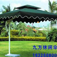 【广州厂家定制】中柱伞双顶边柱户外休闲伞