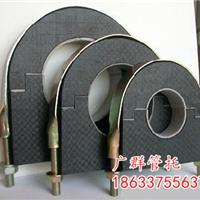 宁波橡塑保温防震空调管托硬质PE管托厂家