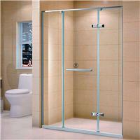 厂家直销 304不锈钢平移门 钢化玻璃淋浴房