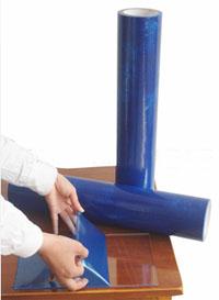 供应PE蓝色保护膜玻璃保护膜