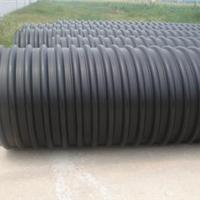 优质HDPE钢带波纹管生产供应