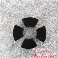 杭州沥青油隔冷保冷木块防腐爆冷管支撑块