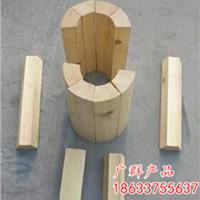 广西厂家批发防腐隔冷垫木管道支撑块