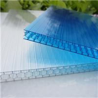 供应PC蜂窝阳光板U型结构板颗粒耐力板