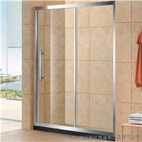厂家定制淋浴屏 简易304不锈钢淋浴房
