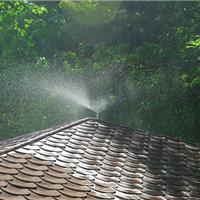 屋顶喷雾降温工程高压设备自动化