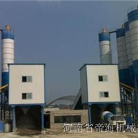 黑龙江180型混凝土搅拌站建造完成