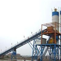 HZS90型混凝土搅拌站工艺流程图