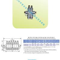 供应机械润滑可调油排,油排分配器