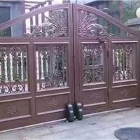 仿古铝合金大门,别墅大门,铝合金阳台栏杆