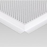 供应明架安装铝扣板 600*600明架扣板厂家