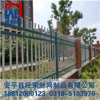 别墅围墙栅栏 锌钢围栏 护栏网厂家