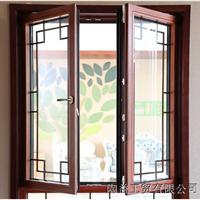 上海铝包木门窗木铝复合门窗美式平开上悬窗