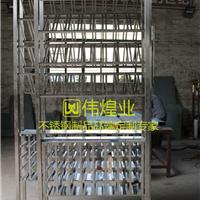 廣州不銹鋼原色酒架酒窖安裝工程批量訂制