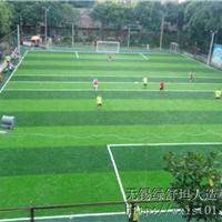绿舒坦生产供应学校操场用5cm单丝人造草坪
