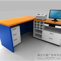 南京展柜厂-中国邮政木质烤漆展柜-大唐格雅