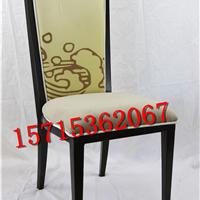 新中式布艺餐厅餐椅 豪华酒店会所 洽谈椅子