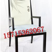 厂家供应新中式餐椅 酒店布艺简约休闲椅子