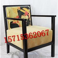 厂家供应新中式餐椅酒店茶餐厅洽谈桌椅